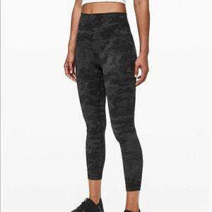 lululemon athletica Pants - Lululemon align gray camo pants
